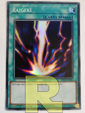 Raigeki ® Super Rara ® SDCH-IT021 ® Italiano