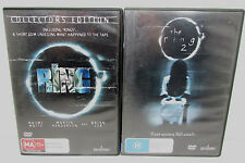 The Ring 1 & 2 DVD's (US Version)
