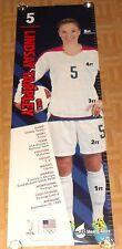 Lindsay Tarpley Olympic Gold Medalist Soccer Poster 72x24 6 FEET LONG! RARE