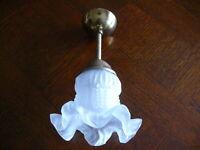 Dekorative Lampe Deckenlampe im Jugendstil  kein Original ca. 50 Jahre alt