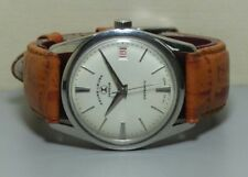 Vintage Favre Leuba Daymatic Swiss Made Wrist Watch r318 Old Used Antique