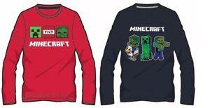 Minecraft Jungen Langarmshirt   Kinder Langarm Pullover