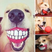 Pet Dog Toy Ball Training Chew Play Fetch Bite Toys R9B3 Color Randomly E8X6