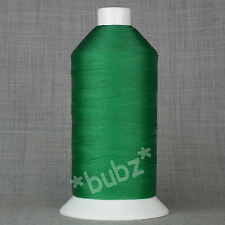 BONDED NYLON SEWING THREAD 40s TKT LARGE 5,000mtr SPOOL GREEN 40 LEATHER REPAIR