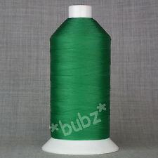 Bonded Nylon Hilo de Coser 40s Tkt Grande 5,000mtr Carrete Reparación De Cuero Verde 40