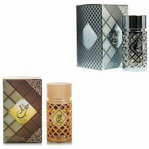 2 New Jazzab (Gold & SILVER) 100ml by Ard Al Zaafaran Arabian Perfume best two