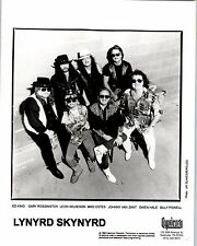 RARE Original Press Photo of Lynyrd Skynyrd a Southern Rock band