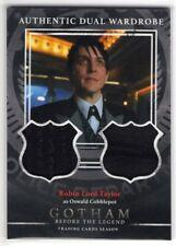 2016 GOTHAM Season 1 Robin Lord Taylor Oswald Cobblepot Dual Wardrobe Card #DM9