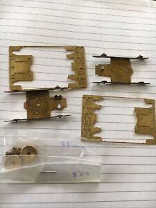 "4mm Etched Brass 8'6"" Bogies For Kit Built OO EM S4"