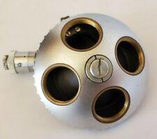 Zeiss Standard Microscope Turret Mount 4 Position