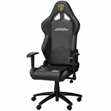 OMP Racing Style Office Chair, Black - 8OMPHA777LAMBNN