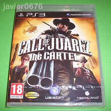 CALL OF JUAREZ THE CARTEL NUEVO Y PRECINTADO PAL ESPAÑA PLAYSTATION 3