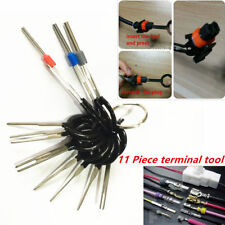 SET of 11 Pin Removal Tool Wiring connector Extractor Puller PC Car Terminal