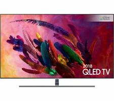 "NEWSAMSUNG QE55Q7FNAT 55"" Smart 4K Ultra HD HDR QLED VOICE CONTROL FRESSAT HD TV"