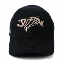 Baseball Cap Men Women Hat Outdoor Fishing Hats Adjustable Embroidery Fish Caps