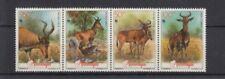 D.Mocambique 1231 - 34 Antelope Wwf (MNH)