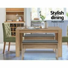 Wooden Dining Table 120cm 4 Seater Oak