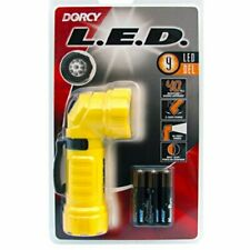 Dorcy 28-Lumen Weather Resistant Angle Head LED Flashlight with Belt Clip