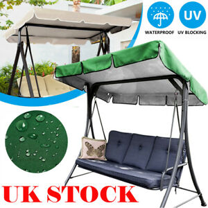 Replacement Canopy Cover For Swing Seat 3 Seater Sizes Garden Hammock Cover UK