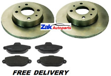 Ford Ka 96-08 1.3i i 49bhp Front Brake Pads /& Discs 240mm Vented