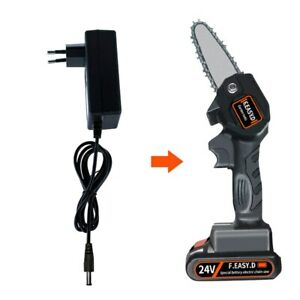 Charger for 24V One-Hand Saw Electric Woodworking Chainsaw Wood Cutting Battery