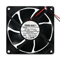 1PC NMB-MAT 3110KL-04W-B80 8025 8cm 12V 0.46A 2-wire cooling fan