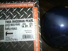Hammer Rhodman Pearl 14 lb Bowling Ball, Used