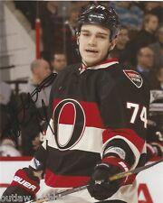 Ottawa Senators Mark Borowiecki Signed Autographed NHL Photo 8x10 COA A