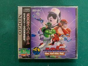 2020 Super Baseball Neo Geo CD US Seller New!