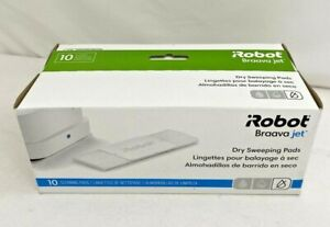 iRobot Braava Jet Dry Sweeping Pads- 10 Cleaning Pads