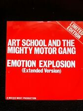 "Art School & The Mighty Motor Gang - Emotion Explosion b/w Hold On Tight 12"" RAK"