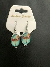 Homemade Dangle Earrings Dragonfly New!!!