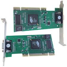 32-Bit ATI Rage XL 8MB 8 MB Card PCI SDR Graphics Video Card for Windows XP 2000