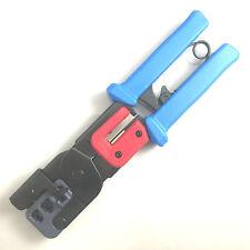 Modular Crimp Tool 8P/RJ-45, 6P/RJ-11, 4P/RJ-22 Ratchet Crimper