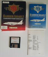 IBM AV8B HARRIER ASSAULT A Strategic Flight Simulation Big Box PC Game