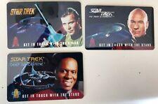 Star Trek Future Call Tec-Card Phone Cards  11 card set