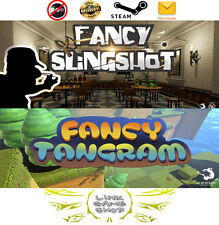 Fancy Slingshot VR + Fancy Trangram  PC Digital STEAM KEY - Region Free - For VR
