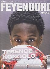 Programme / Magazine Feyenoord Rotterdam 10e jaargang no.8 Maart 2017
