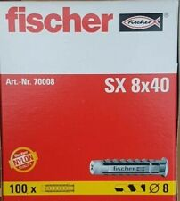 Fischer chevilles Nylon SX 8x40 531029