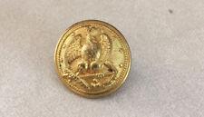 Vtg Josh Starkey London Civil War Navy Eagle Anchor Navy Brass Shank Button