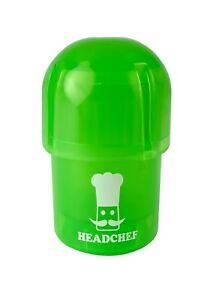 Headchef Pod Grinder / Storage Pot - Water tight - GREEN
