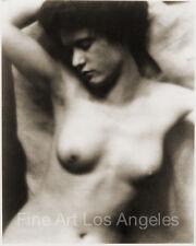 """Alfred Stieglitz, Clarence H. White Photo, """"Torso"""" 1907"""