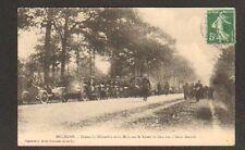 DOURDAN (91) COURSE AUTOMOBILE sur Route de DOURDAN à SAINT-ARNOULT en 1909