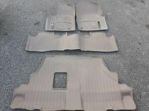 Dodge Durango Weathertech rubber slush floor mats liners