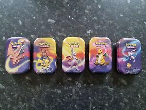 Pokemon mini kanto tins