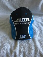Nascar Ryan Newman #12 Alltel Racing Official Cap adjustable (NWT)
