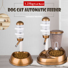 DIY Automatic Pet Water Drinker Cat Dog Bowl Fountain Bottle Feeder Dispenser