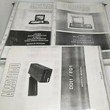 More details for amstrad service manuals (photo-copies) for cpc 464, cpc 664 and ddi1/fd1 *sale
