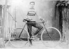 Photo. WW1. Australia. Man & Bicycle - SPEEDWELL