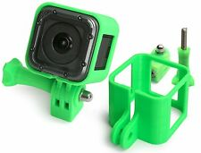 Ultra Light frame + Tripod Mount F. GoPro Hero 5 Session marco trípode Green